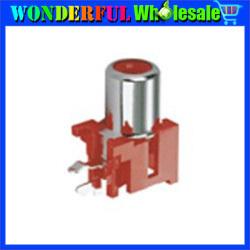 Free shipping RCA Socket,RCA Pin Jack Connector,RCA-102