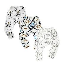 3PCS/LOT Pantalones de bebé verano & otoño Pantalones de algodón para infantes a la moda Pantalones Para bebe recién nacido Pantalones para bebé hembra Ropa de bebé 0-24M(China (Mainland))