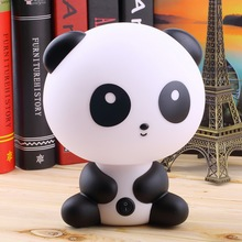 Cute Panda Cartoon animal night light,Kids Bed Desk Table Lamp Night Sleeping led night lamp Gift new arrival(China (Mainland))