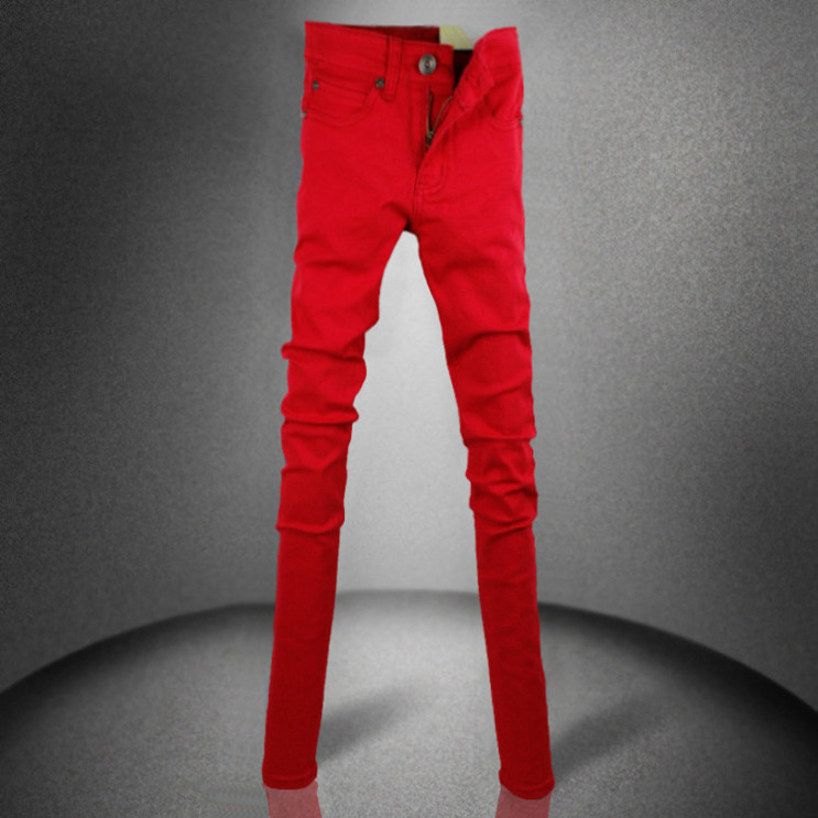 Online Get Cheap Red Skinny Jeans Boys -Aliexpress.com | Alibaba Group