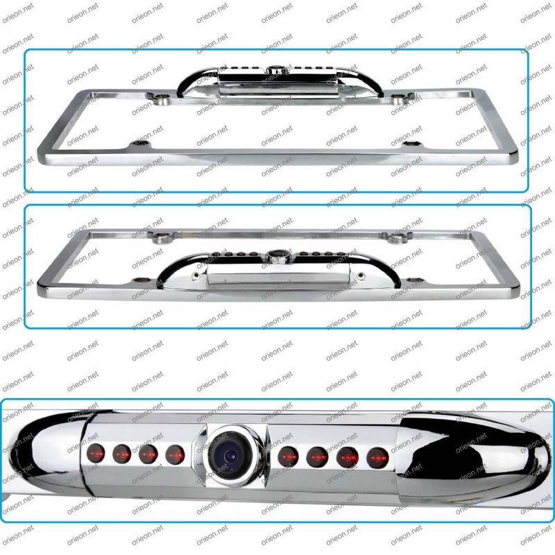 Hot selling 1pc/lot Waterproof USA Canada Car License Plate Camera,license plate frame camera (RC6US)(China (Mainland))