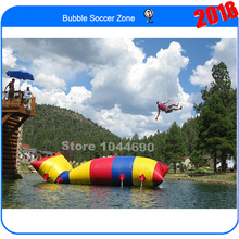 Free shipping cheaper price 5m*2m jump bag,blob water toy(Free pump+ repair kits)(China (Mainland))