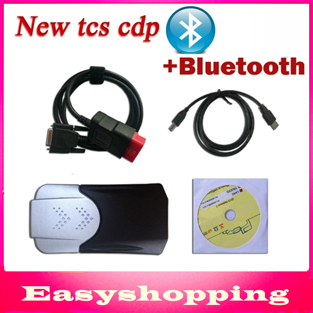 2014 R3/ 2014.2 R2 Software TCS CDP Bluetooth Diagnostic Scanner Tool BT OBD2 CARs/TURCK One Year Warranty - Shenzhen Easyshopping Electronic Co., Ltd. store