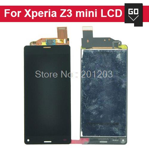 10pcs/lot For Sony for Xperia Z3 compact z3 mini LCD Screen Display and Touch Screen pannel Digitizer assembly(China (Mainland))