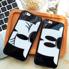 iphone 5 5s 6 6s plus 4.7&5.5inch cartoon mickey minnie mouse Donald Duck Chip Bear rubber cell phone cases covers - lostPeter Store store
