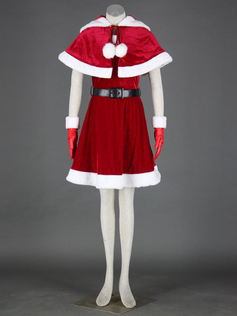 Christmas Culture Cosplay Costume Christmas Girl 11th Any Size(China (Mainland))