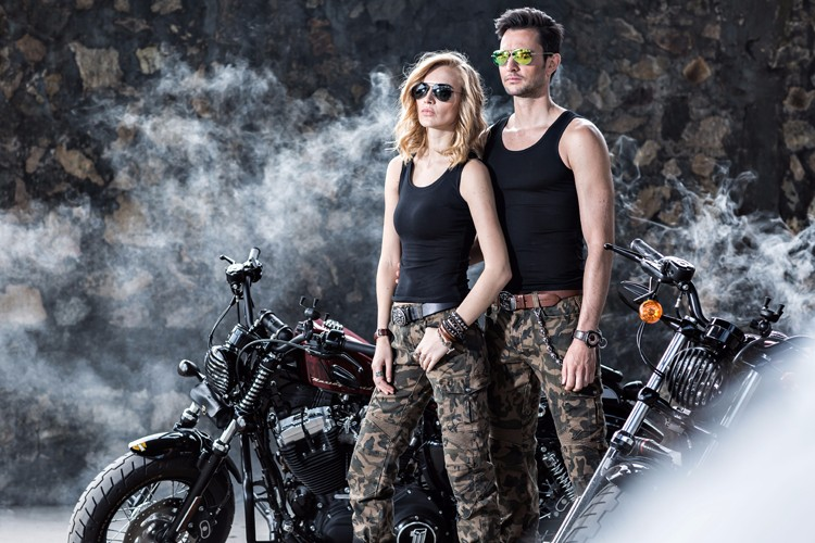 2016 The newest UglyBROS motorpool camo ubs07 jeans camouflage leisure riding a motorcycle pants jeans man jeans motor pants