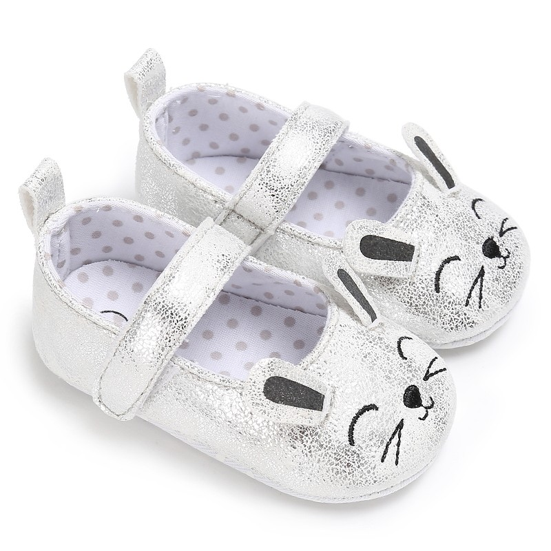 Baby Girl Crib Shoes Infant First Shoe Anti-Slip PreWalker Sandals Inhouse Shoes