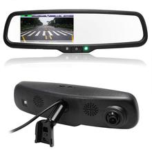 "4.3"" TFT LCD Full HD 1080P 170 Degree Car DVR Camera Video Recorder Rearview Mirror Monitor Special Bracket For Toyota VW Kia(China (Mainland))"