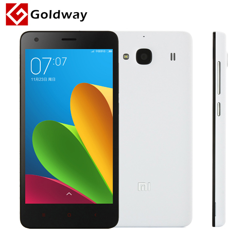 "Original Xiaomi Redmi 2 Phone 4G LTE B3 B7 Dual SIM MSM8916 Quad Core 4.7"" IPS 1280*720p 1GB RAM 8GB ROM 8MP MIUI 6 Red Rice 2(Hong Kong)"