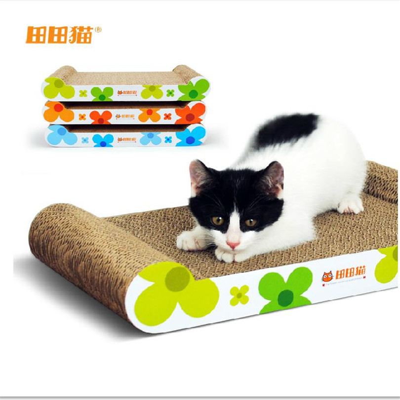 Cats Kitten Scratcher Scratching Post Interactive Toy For Pet Cat