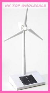 FREE SHIPPING Hot sale Solar wind Turbinator, Solar windmill,Solar toy,Solar gift for children and friends