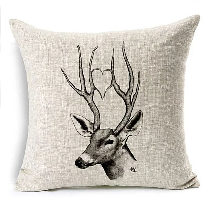 Bulk Throw Pillow Cases : Wholesale 1pcs Linen Printed Animal Decorative Throw Pillow Case Home Textile Pillowcases ...