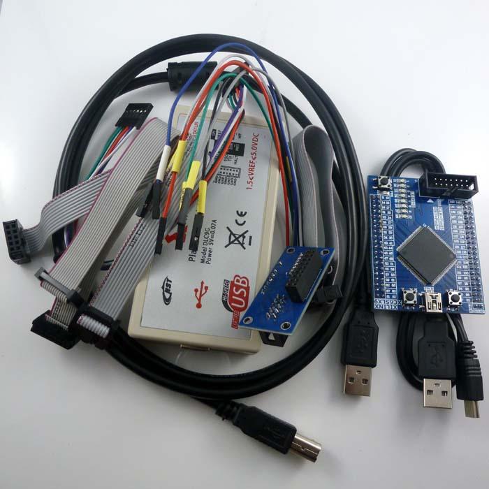 Xilinx Fpga Development Board SPARTAN-6 XC6SLX9 spartan6 spartan 6 USB Programmer Downloader kit(China (Mainland))