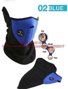 free shipping + Bike Motorcycle Ski Snow Snowboard Sport Neck Winter Warmer Face Mask New blue