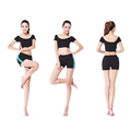 Free Shipping Women s Summer Sexy Short Yoga Suit Exercise Uniform Workout Slim Cut Clothing Lady