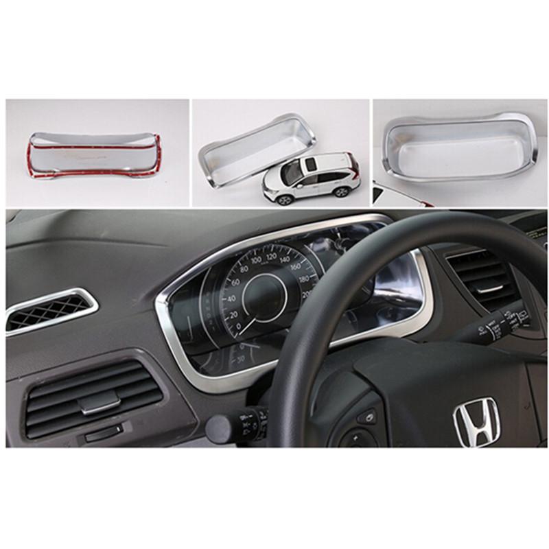 Car Auto Accessories Instrument Desk Cover Trim Frame Decoration Trim For Honda Crv Cr V