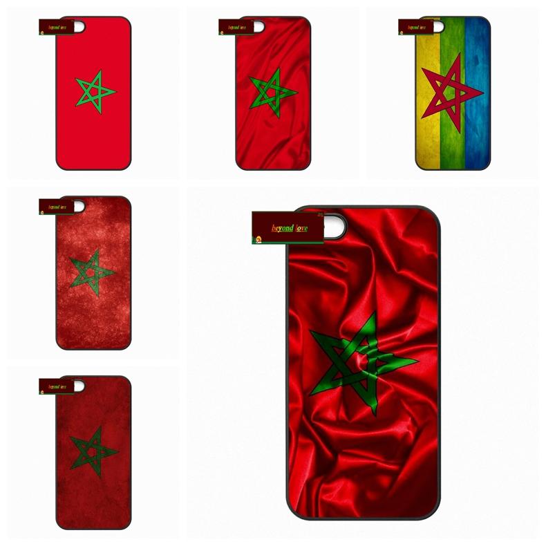 MA Maroc Morocco Flag Cover case for iphone 4 4s 5 5s 5c 6 6s plus samsung galaxy S3 S4 mini S5 S6 Note 2 3 4 DE0375(China (Mainland))