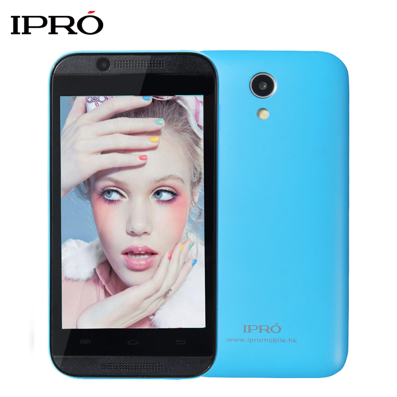IPRO WAVE 4.0 Smartphone MTK6572 Dual Core RAM 512M ROM 4G Celular Android 4.4 Unlocked Cellphone with WIFI GPS Christmas Gift(China (Mainland))