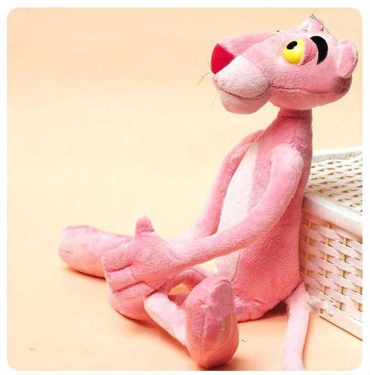 40 СМ Симпатичный Розовый Непослушный Leopard Розовая Пантера Плюшевые Игрушки Детские Куклы Brinquedos