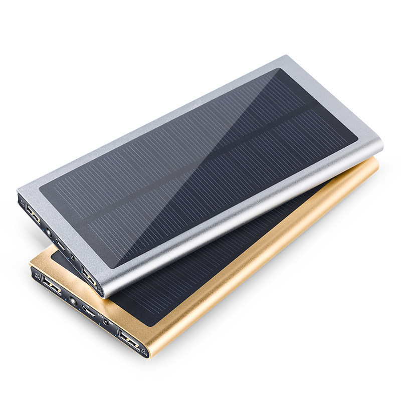 8000mAh Portable Solar charger Power Bank 18650 Universal External Battery Charger Powerbank For Mobile Phone Outdoor Travel(China (Mainland))
