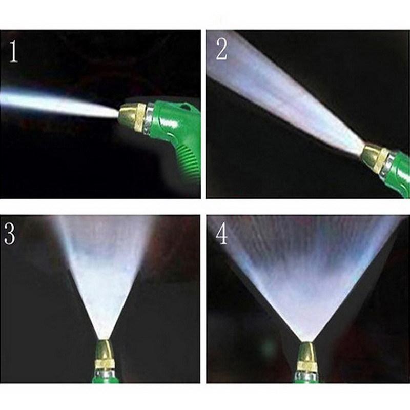 Home Car Wash Water Gun High Water Pressure Bearing Copper Washer Gun Head Cleaning Gun H1E1(China (Mainland))