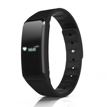 New Bluetooth 4.0 Smart Bracelet Heart Rate IP67 Waterproof Sport Wristband Fitness Tracker SmartBand OLED Band For IOS Android