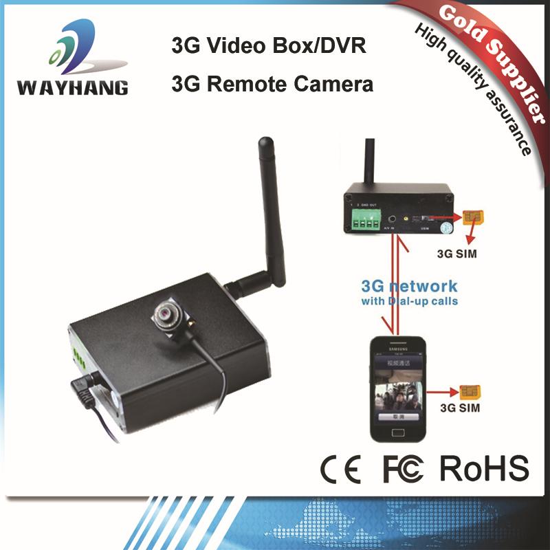 Free Shipping mini 3G camera live video surveillance WCDMA GSM 3G Video Box(China (Mainland))