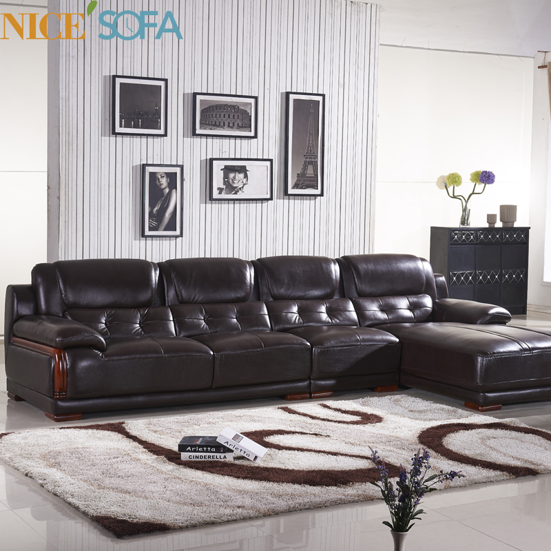Buy Living Room Furniture Classical Sofa Design Leather Corn