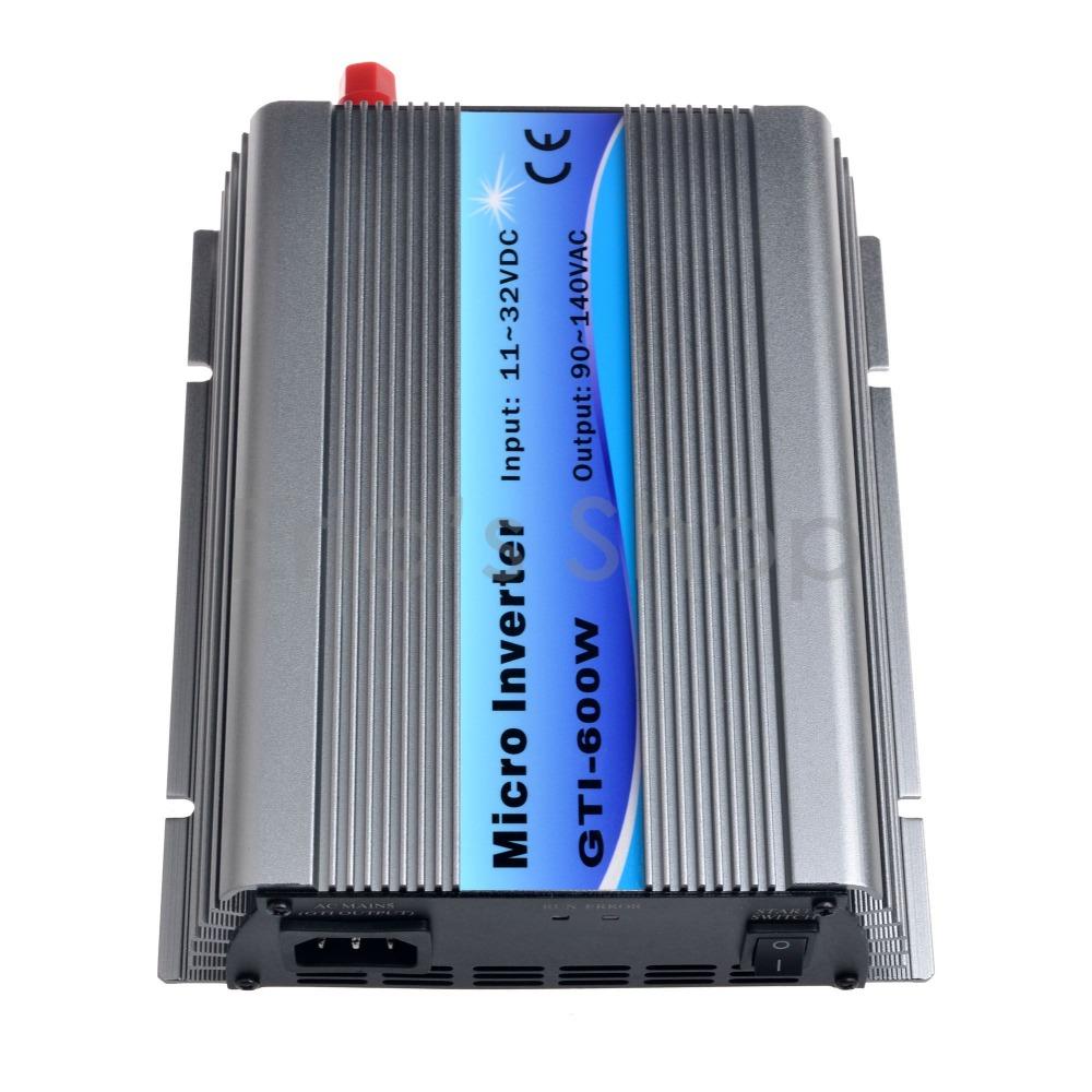 500W Grid Tie Inverter DC11V-32V to AC110V Pure Sine Wave Inverter Use For 18V Panel 36cells 50Hz/60Hz(China (Mainland))