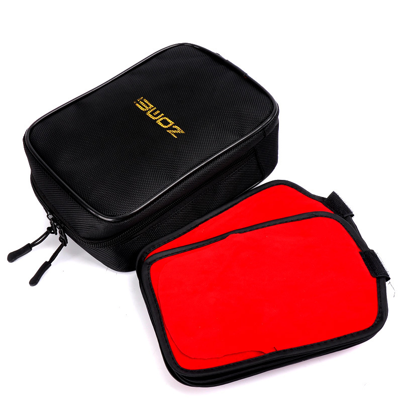 Zomei Black Color 16 Pocket Camera Filter Wallet Case Pouch for Circular or Square Filters(China (Mainland))