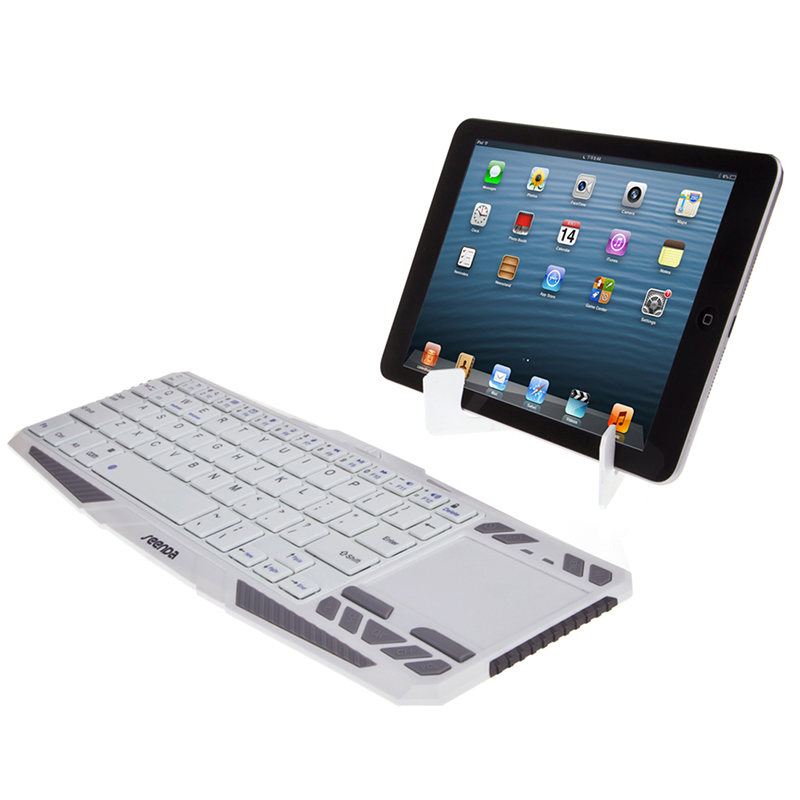 SEENDA IBK-02 Bluetooth Keyboard Wireless BT V3.0 Touch Pane + for Tablet PC Stand with universal remote control(China (Mainland))