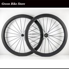 Wholesale 50mm full carbon wheelset tubular carbon wheels 700C road wheelset(China (Mainland))