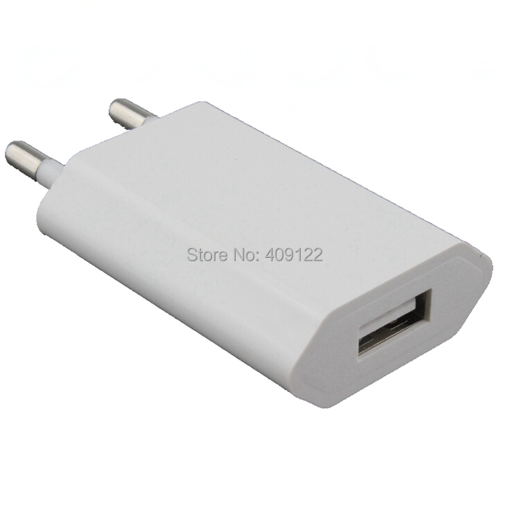 10pcs 5V EU Travel Home USB Wall Charger for iPhone 4 5 5S 6 plus Samsung Galaxy S2 S3 S4 S5 for HTC sony Nokia LG lenovo huawei(China (Mainland))