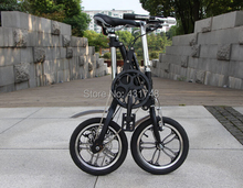 "Colorful 14"" Folding Bike with Gears X-shape Iron Frame EMS free shipping(China (Mainland))"