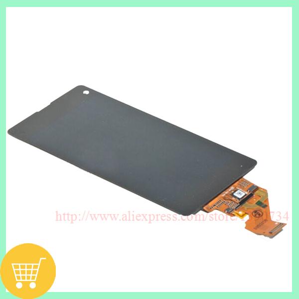 100% Original LCD Display Digitizer Assembly +Touch Screen Replacement For Sony Xperia Z1 Mini Compact Z1c M51w D5503 Free Ship