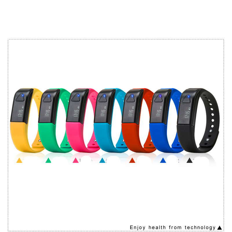 KYTO 3D Bluetooth Smartband Calories Burned Bracelet Waterproof OLED Men Women Sport Pedometer Wrist Watch For iphone/Android(China (Mainland))