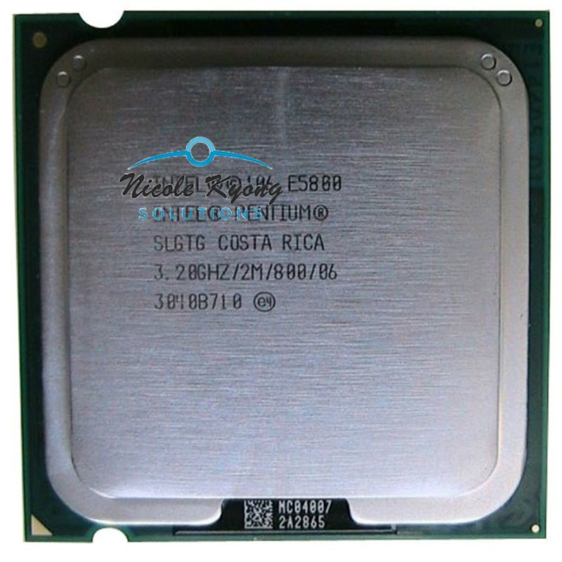 Dual core Pentium desktop Processor E5800 SLGTG (2M Cache, 3.20 GHz, 800 MHz FSB) LGA775 CPU(China (Mainland))