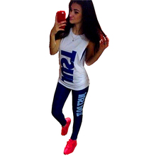Gagaopt 2016 Spring Autumn Fashion Sexy 3 Pieces Women Tracksuit Set Sport Suit Women Sets Summer High Quality Plus Size Joggers(China (Mainland))