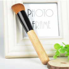 2015 New Pro Powder Brush Wooden Handle Multi-Function Blush Powder Mask Foundation Brush Makeup Tool HJ0203*5