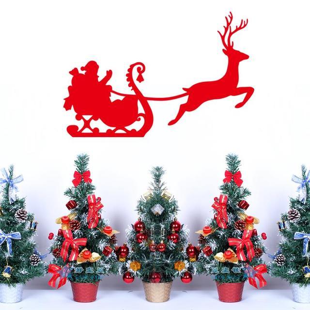 С рождеством христовым присутствует стикеров стены винила оленей стены отличительные знаки рождественский фестиваль украшения дома Xmas15 бесплатная доставка