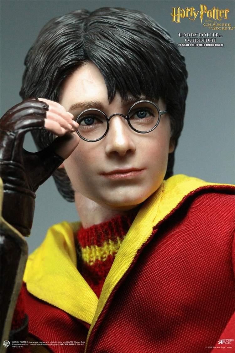 Star Ace Toys SA0018 1/6 Harry Potter and The Chamber of Secrets The Quidditch Match Version Collection Action Figure(China (Mainland))