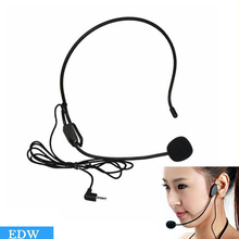 2016 Mini studio microfone condensador One piece Black For Voice Amplifier Speaker Professional Stand Wired Headset Microphone(China (Mainland))