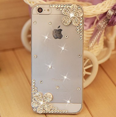 New 2014 rhinestone crystal Hard Back Cover Skin Case cover For apple iphone 5c case free shipping(China (Mainland))