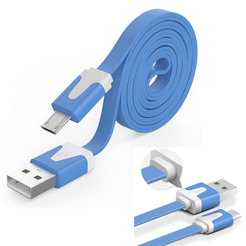 High Colorful Micro USB Data sync Samsung S3 S4 S5 / Nokia / HTC / Huawei Android Micro USB Charger Cable 1M 2M 3M