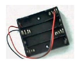 5 4 battery cassette of line model electronic manual toy household 6 v battery box(China (Mainland))