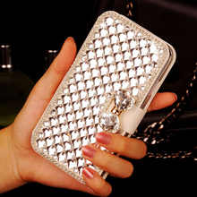 Elegant Bling Crystal Premium PU Leather Wallet Card Holders Case ASUS ZenFone 2 Laser ZE550KL ZE551KL Z00LD Z00TD Z00TDA - Case-Mall store