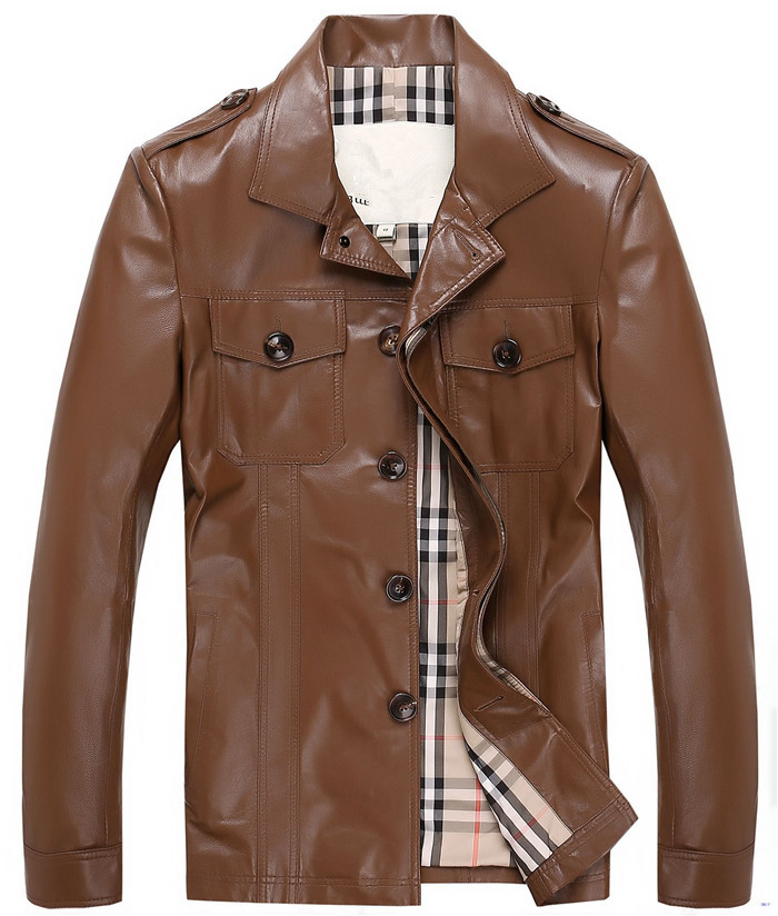 Boys Brown Leather Jacket | Outdoor Jacket