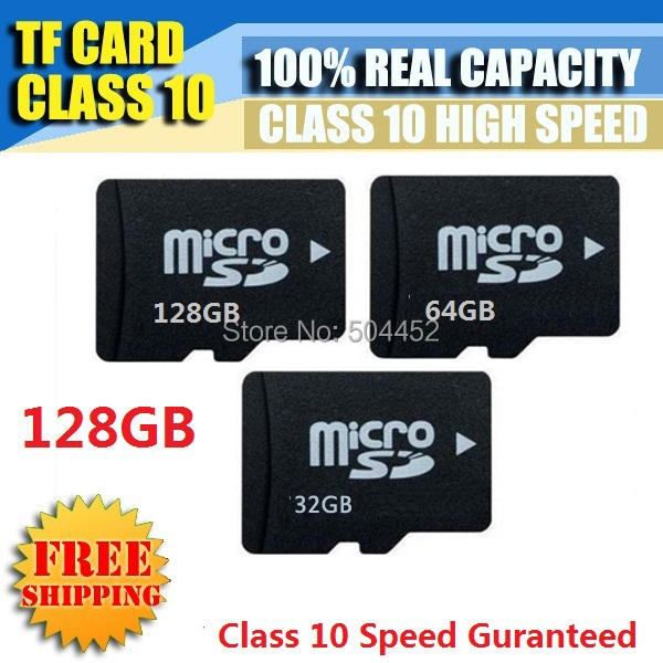New Memory Card Micro SD Card 128GB 64GB 32GB 16GB 8GB 4GB 2GB Class 10 Full Capacity Guaranteed Or Full Refund 16GB 32GB 64GB(China (Mainland))