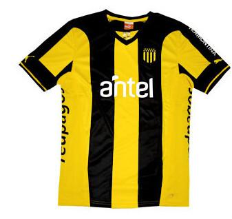 Penarol 2014/2015 futbol Soccer Uruguay jersey football kits Shirts Uniforms(China (Mainland))